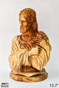 Bust of Christ (with the tree of life on the back)