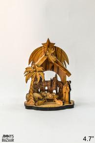 Glued nativity set (small)