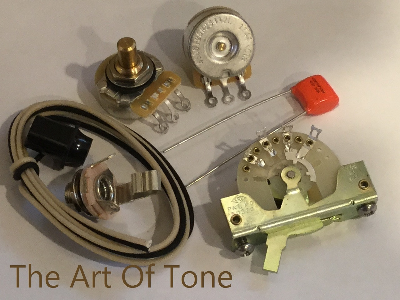 basic wiring kit for telecaster® guitars  deluxe taot fender telecaster wiring kit the art of tone