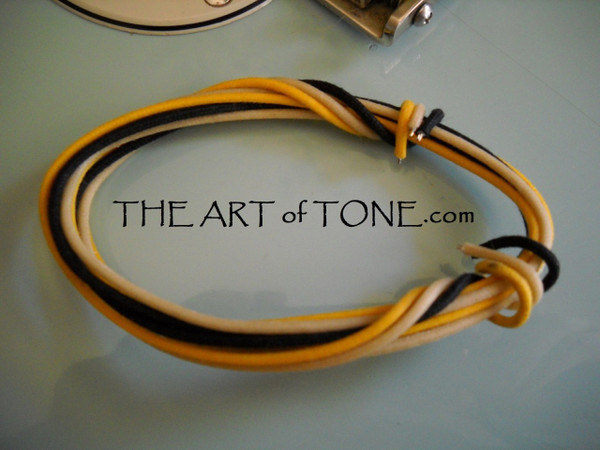Vintage push back cloth wire