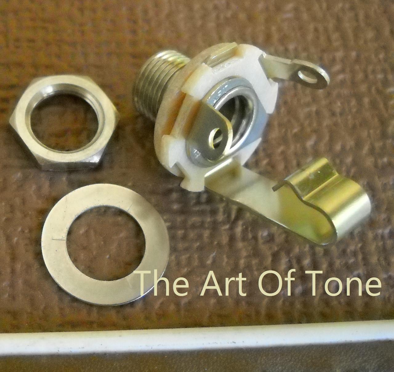 Switchcraft Mono Jack #J11  The Art Of Tone