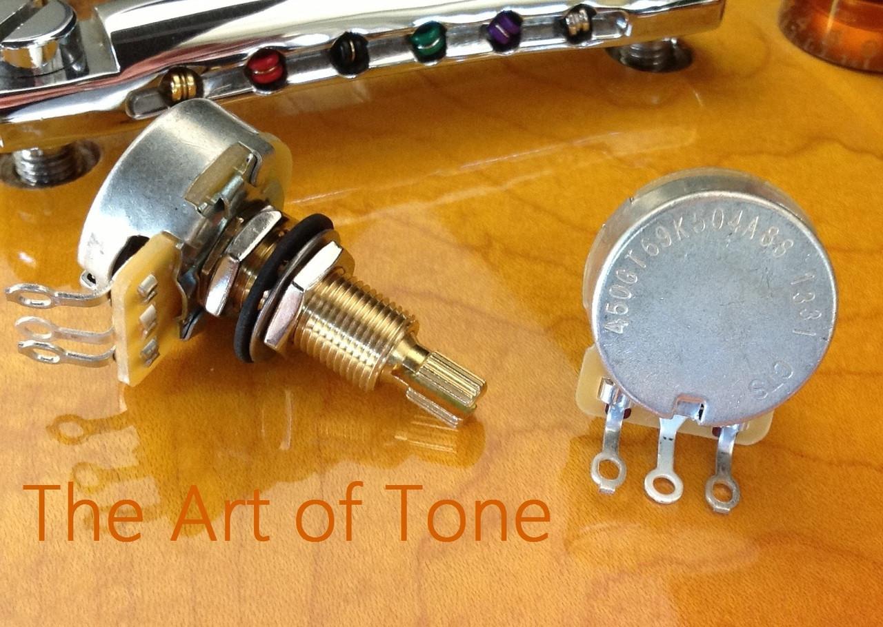 CTS 450G Series Vintage Taper Long Shaft Pot