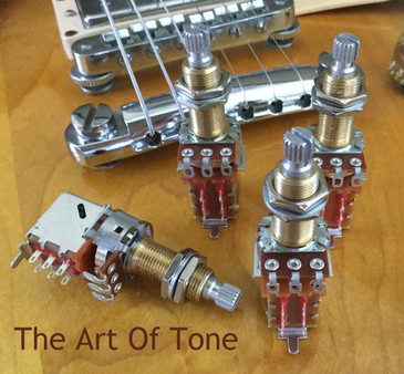 Bourns 500K Long Shaft Push Pull Potentiometers.
