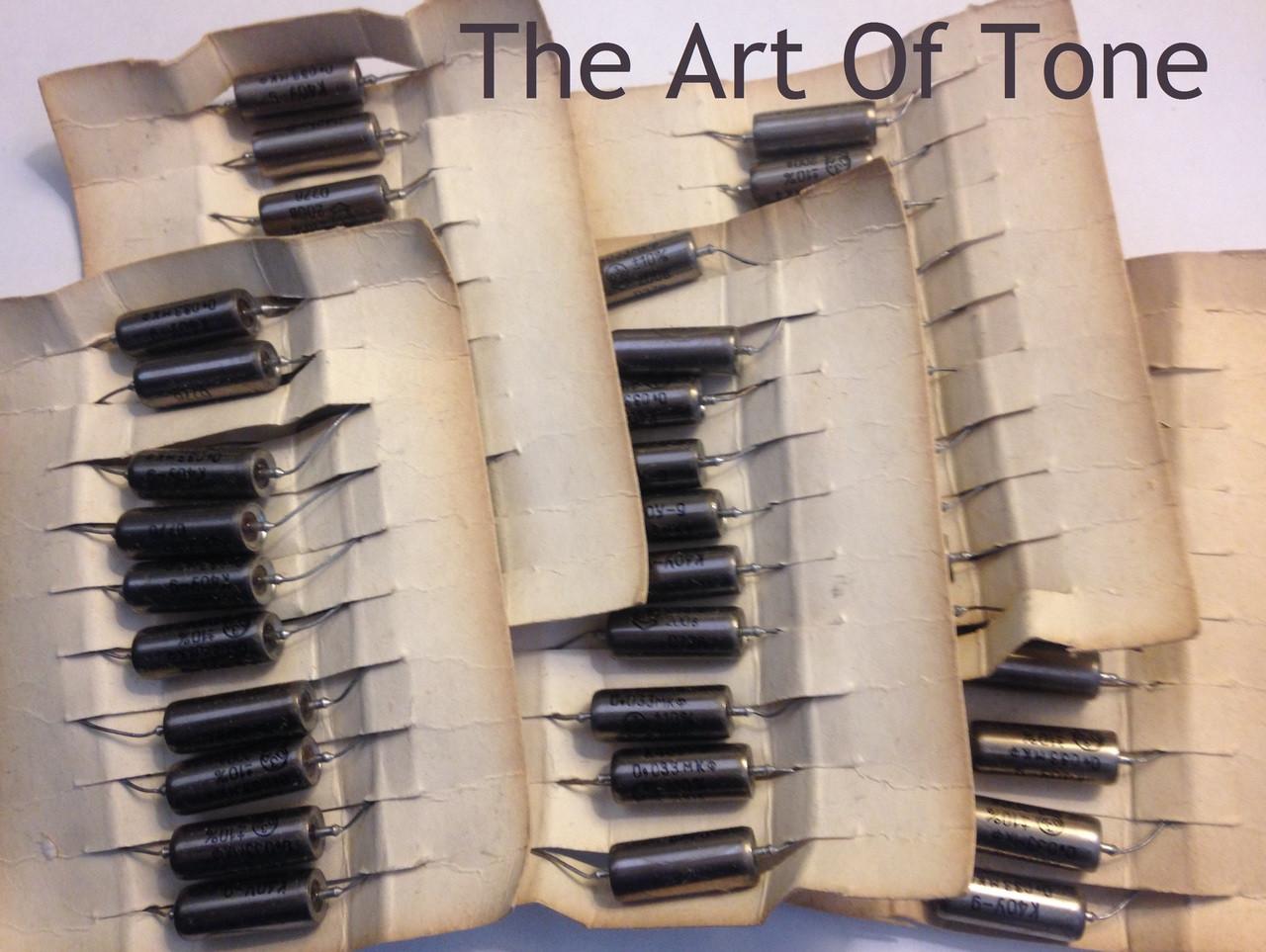 Russian K40Y-9 .033uf@200v The Art Of Tone TAOT Zemaitis Zemaitis Guitar Company