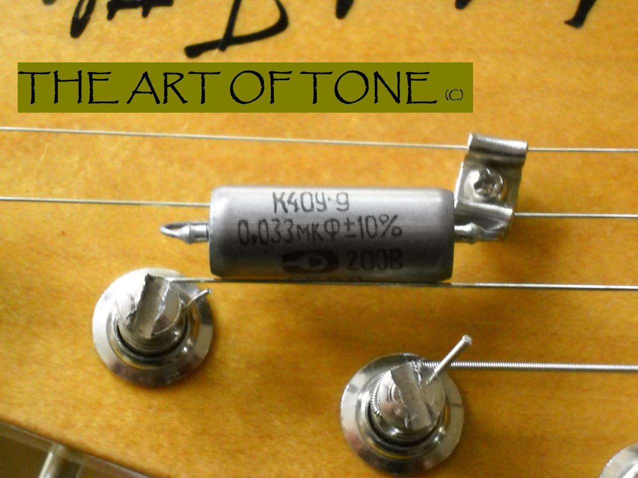 Russian K40Y-9 .033uf@200v The Art Of Tone TAOT