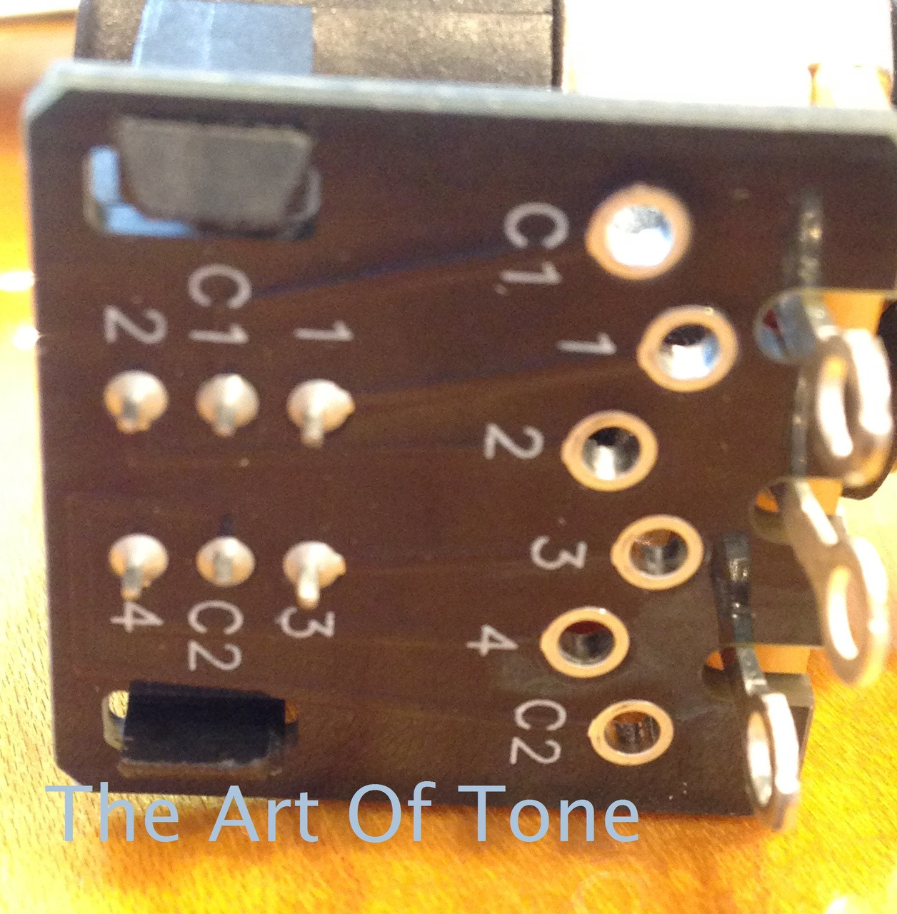 CTS 500K LONG Shaft Push/Pull Double Pole Double Throw Potentiometer  The Art Of Tone TAOT Theartoftone.com