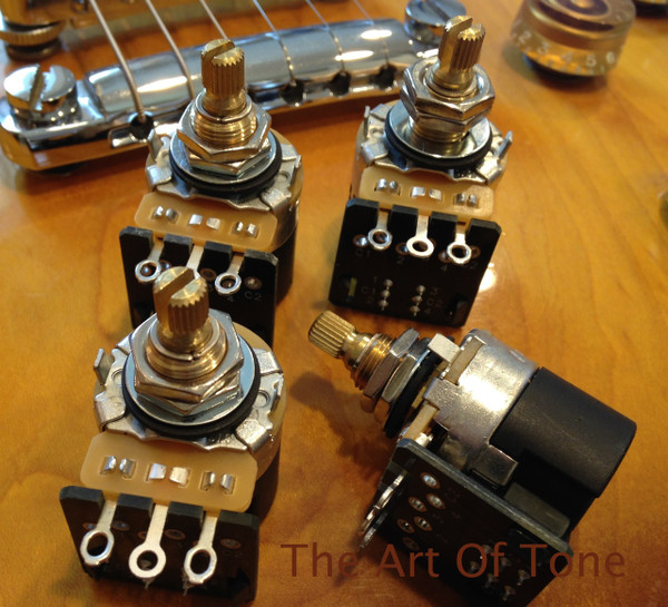 CTS 500K Short Shaft Push/Pull Double Pole Double Throw Potentiometer  The Art Of TOne