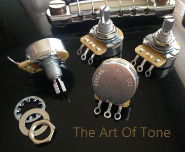 CTS 450S 500K Split Shaft Audio Potentiometer The Art Of Tone