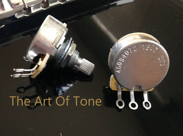 CTS 450S 500K Split Shaft Audio Potentiometer The Art Of Tone TAOT Zemaitis Guitar Antonio Johnson Photography