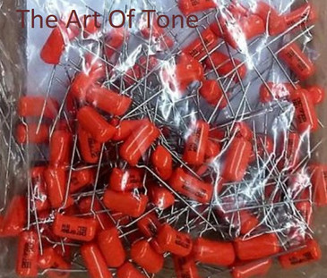 Orange Drop .022 @ 200v Capacitor Bulk Lot The Art Of Tone TAOT Antonio Johnson Photography
