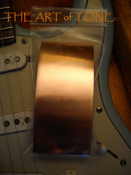 Copper Foil Tape for Guitars