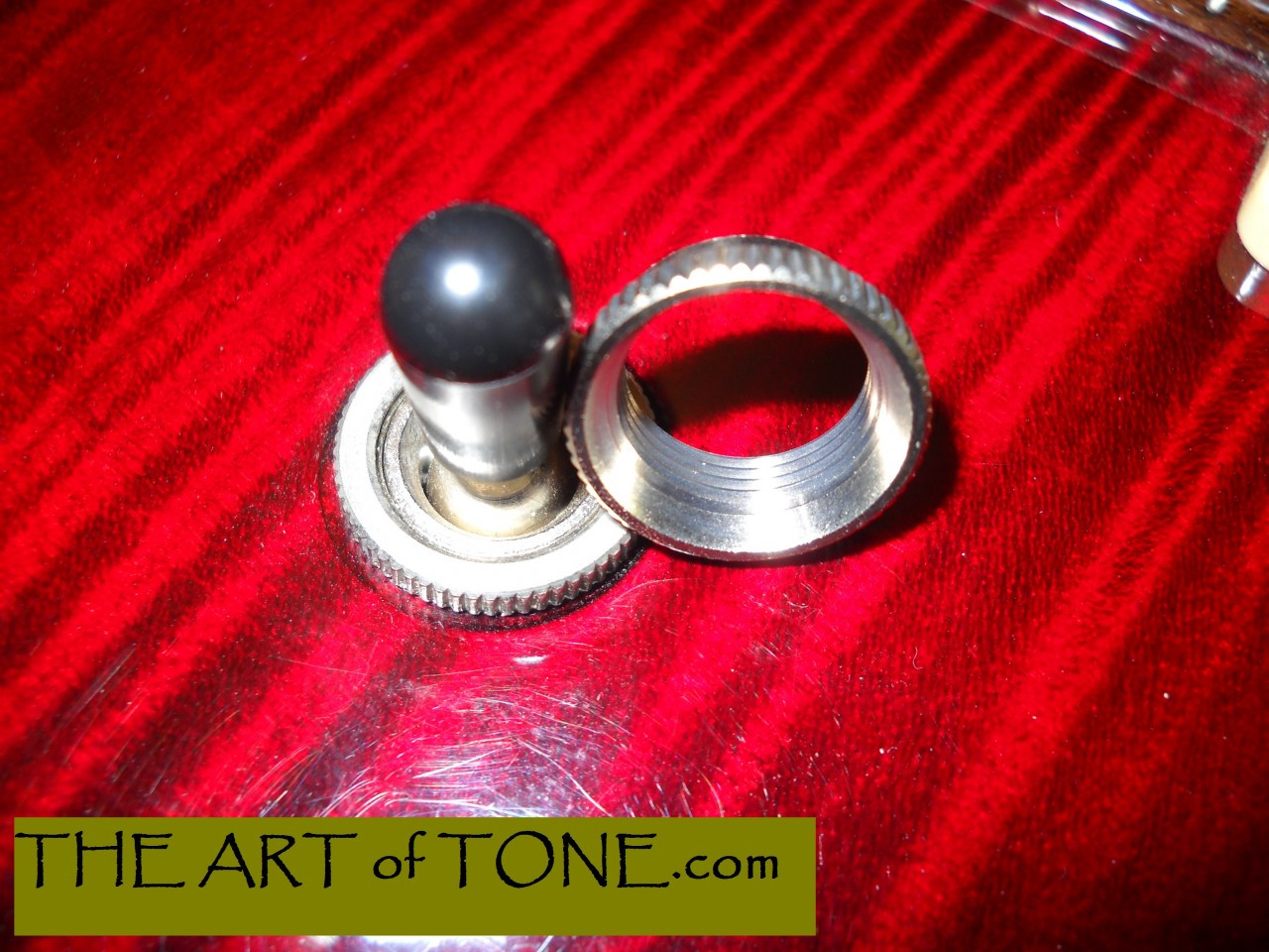Deep Round Nut for Switchcraft Toggle Switch