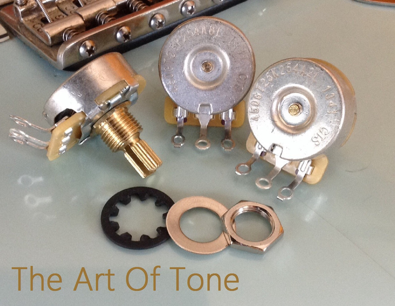 TAOT Deluxe Strat Wiring Kit  The Art Of Tone