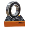63001-2RS - Timken Deep Groove Radial Ball Bearings  - 12x28x12mm