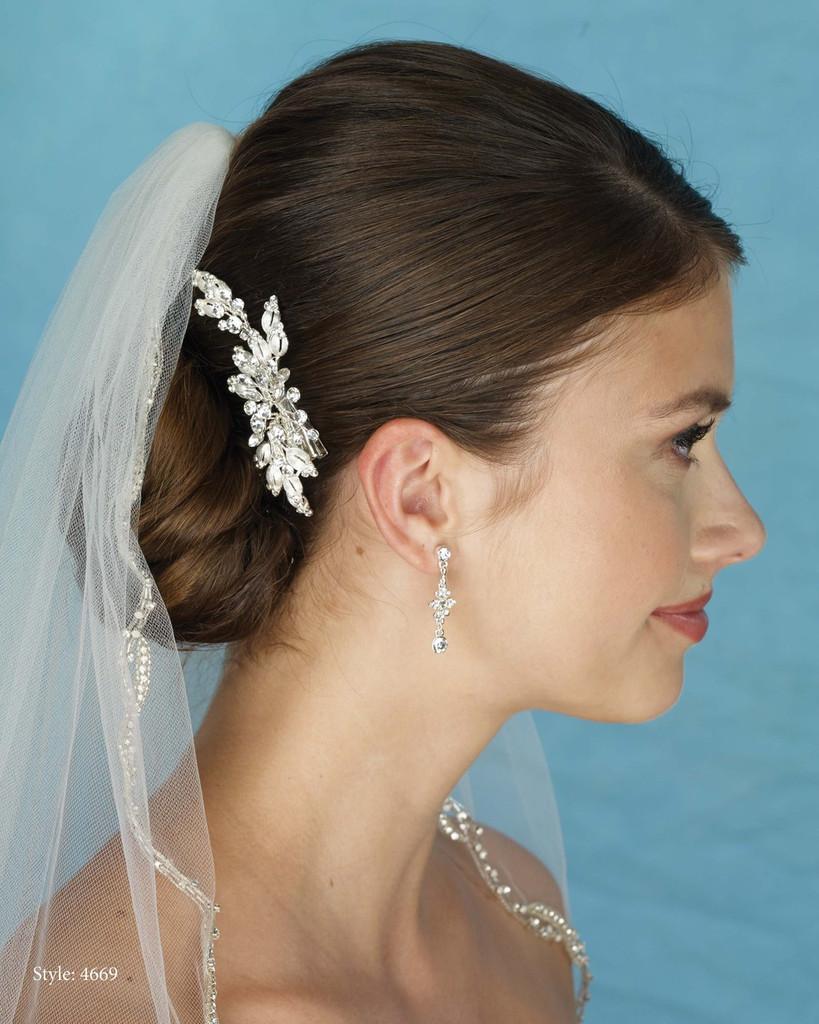 Marionat Bridal 4669 Small Rhinestone Clip - Le Crystal Collection