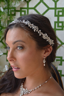 Ansonia Bridal 8672 - Pearl Beaded Headband