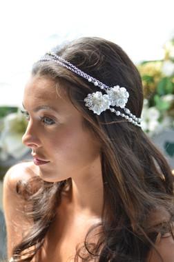Elena Designs E818 - Flower & Pear Headpiece