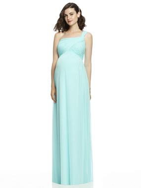 Dessy Maternity Bridesmaids Style M427 by - Chiffon Knit