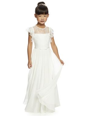 Dessy Flower Girl Style FL4046 - Nu Georgette