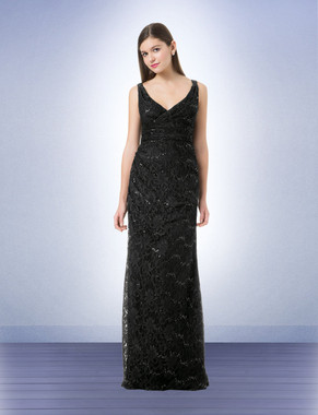 Bill Levkoff Bridesmaid Dress Style 1232- Sequin Lace