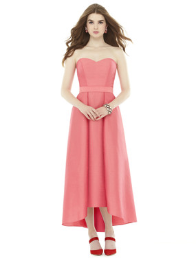 Alfred Sung Bridesmaids Style D714- Dupioni