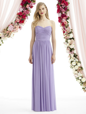 After Six Bridesmaids Style A6736- Lux Chiffon