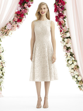 After Six Bridesmaids Style A6738- Classic Lace