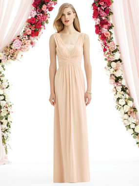 After Six Bridesmaids Style A6741- Lux Chiffon