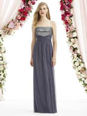 After Six Bridesmaids Style A6743- Soft Tulle