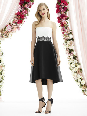 After Six Bridesmaids Style A6747 - Mousseline