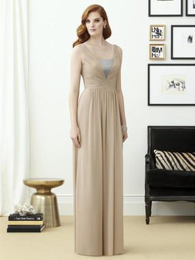 Dessy Bridesmaids Style 2962 By Vivian Diamond - Lux Chiffon