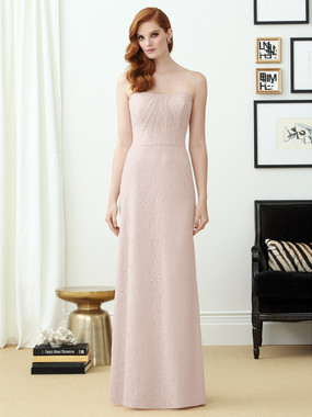 Dessy Bridesmaids Style 2952 By Vivian Diamond - Florentine Lace