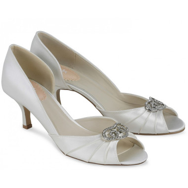 Amelia White Shoe - Pink By Paradox Shoe