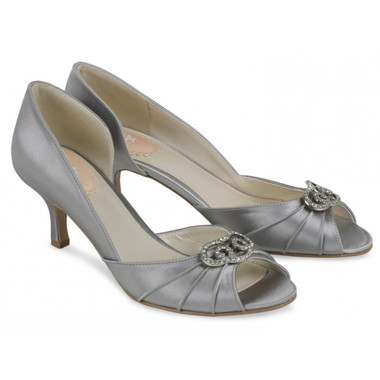 Amelia Silver Shoe - Pink By Paradox Shoe