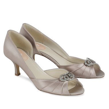 Amelia Taupe Shoe - Pink By Paradox Shoe