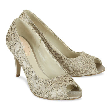 Cosmos Taupe Shoe - Pink By Paradox Shoe