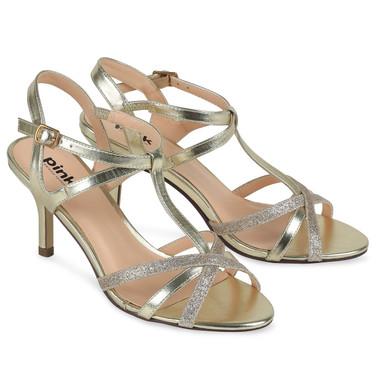 Georgina Shoe Gold - Pink By Paradox Shoe
