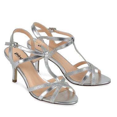 Georgina Shoe Silver - Pink By Paradox Shoe