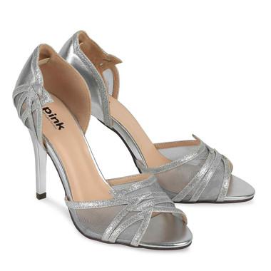 Lara Silver Shoe - Pink By Paradox Shoe