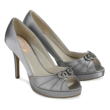 Lavish Silver Shoe - Pink By Paradox Shoe