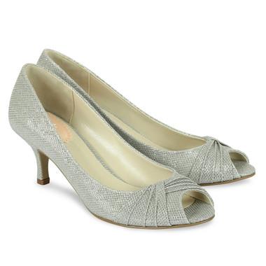 Romantic Silver Shoe - Pink By Paradox Shoe