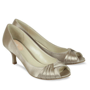 Romantic Taupe Shoe - Pink By Paradox Shoe