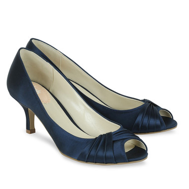Romantic Navy Shoe - Pink By Paradox Shoe