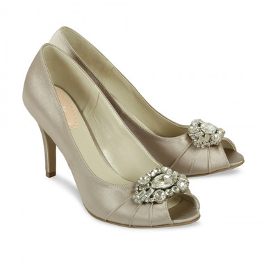 Tender Taupe Shoe - Pink By Paradox Shoe