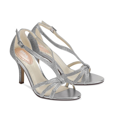 Vibrant Silver Shoe - Pink By Paradox Shoe