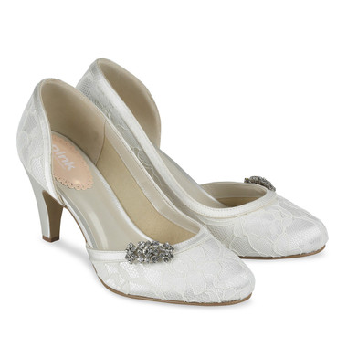 Virtue White Shoe - Pink By Paradox Shoe