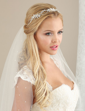Bel Aire Bridal 6633- Pearl and rhinestone headband