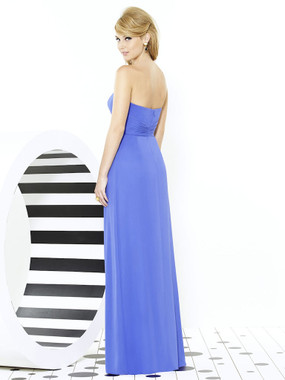 After Six Bridesmaids Style 6713 by Dessy - Lux Shimmer
