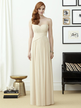 Dessy Bridesmaids Style 2960 By Vivian Diamond - Lux Shimmer