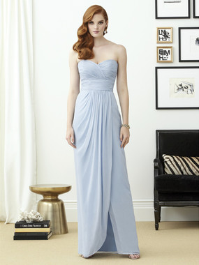 Dessy Bridesmaids Style 2959 By Vivian Diamond - Lux Shimmer
